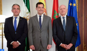 Azoulay Received by President of Andalusian Government