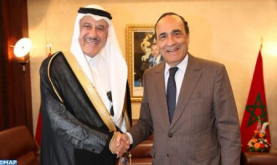 Saudi Ambassador in Rabat Reiterates His Country's Continuous Support for Morocco's Territorial Integrity