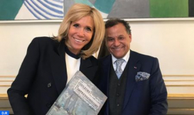 President of Museums Foundation Received in Elysée by Brigitte Macron