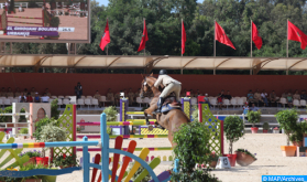 Royal Guard Show Jumping Contest: Zacaria Boubouh Wins HM King Mohammed VI Grand Prix